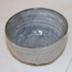 茶碗:萩黒